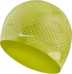 Nike Czepek pływacki Optic Camo Silicone bright cactus (NESS9161-327)