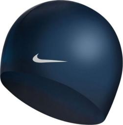 Nike Czepek Solid Silicone Youth midnight navy one size (TESS0106-440)