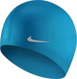 Nike Czepek Solid Silicone Youth lemon photo blue one size (TESS0106-458)
