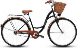 Goetze Rower miejski ECO 28″ + kosz wiklinowy czarny