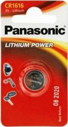 Panasonic Bateria Lithium Power CR1616 1szt.