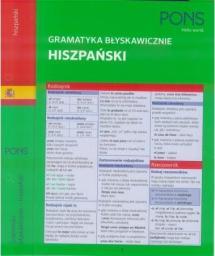 Gramatyka błyskawicznie. Hiszpański