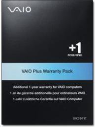 Gwarancje dodatkowe - komputery Sony Rozszerzenie gwarancji VAIO o dodatkowy 1 rok (VAIOBOXEWY1)