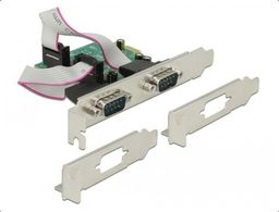 Kontroler Delock DeLOCK PCI Express > 2 x Serial RS-232 High Speed 921K