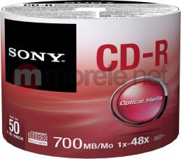 Sony CDR 700MB (50 SPINDLE) 50CDQ80SB