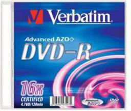 Verbatim DVD-R Slim 4.7GB 16x 1szt