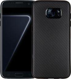 Etui Carbon Fiber Samsung S7 Edge G935 czarny/black