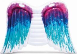 Intex Materac skrzydła anioła niebiesko-fioletowy 251x106cm (58786)
