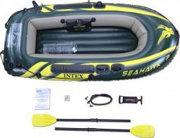 Intex Ponton Seahawk 200 set zielony 236x114x4cm (68347NP)