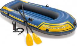 Intex Ponton Challenger 2 set niebiesko-żółty 236x114x41cm (68367NP)