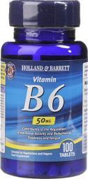 Holland & Barrett Witamina B6 50 mg 100 tabl.