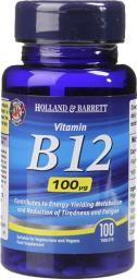Holland & Barrett Witamina B12 100 ug 100 tabl.