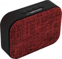 Głośnik Esperanza EP129R SAMBA Z Wbudowanym Radiem FM Czerwony