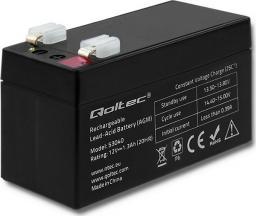 Qoltec Akumulator AGM 12V 1.3Ah max.0.39A (53040)