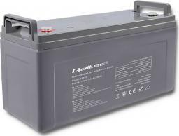 Qoltec Akumulator AGM 12V 120Ah max.36A