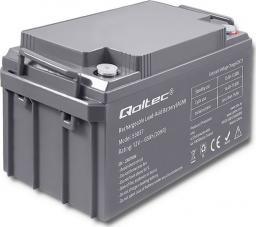Qoltec Akumulator AGM 12V 65Ah max.19.5A