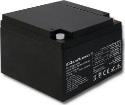 Qoltec Akumulator AGM 12V 24Ah max.7.2A