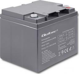 Qoltec Akumulator AGM 12V 45Ah max.13.5A