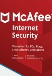McAfee Internet Security PL OEM 1 urządzenie 1 rok (BKCMIS1YRPOL)