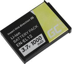 Akumulator Green Cell Bateria Green Cell ® EN-EL12 do Nikon Coolpix AW100 AW110 AW120 S9500 S9300 S920