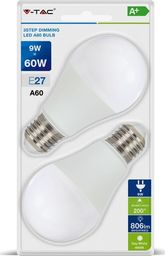V-TAC Żarówka LED VT-2129 E27 60X112MM 9W 4000K 806LM SMD-SKU7289