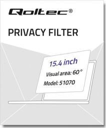 Filtr Qoltec Filtr prywatyzujący RODO do MacBook Pro Retina (2012-2015) | 15,4''