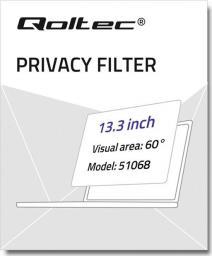 Filtr Qoltec Qoltec Filtr prywatyzujący RODO do MacBook Pro Retina (2012-2015) | 13.3''