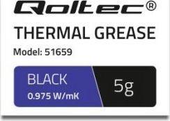 Qoltec Qoltec Klej termoprzewodzący 0.975 W/m-K | 5g | Biały
