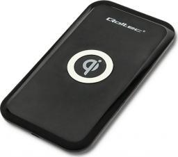 Ładowarka Qoltec Ładowarka indukcyjna Qualcomm Quick Charge 3.0, czarna