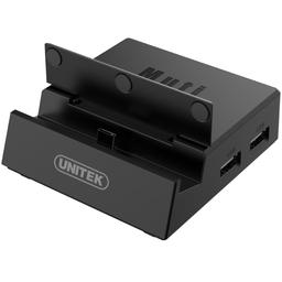 Ładowarka Unitek USB-C Desktop Multimedia Gaming Station