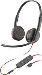 Słuchawki z mikrofonem Plantronics Blackwire C3225 USB-C-209751-101