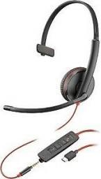 Słuchawki z mikrofonem Plantronics Blackwire C3215 USB-C-209750-101