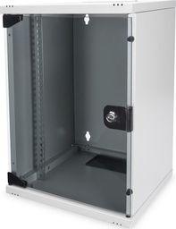 Szafa Digitus Szafa wisząca jednosekcyjna 10 cali 9U 464x312x300mm, drzwi szklane-DN-10-09U