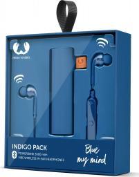 Słuchawki Fresh n Rebel Fresh 'n Rebel Gift Pack Vibe Wireless & Powerbank 3000mAh Indigo