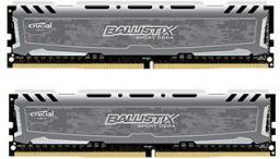 Pamięć Crucial Ballistix Sport LT, DDR4, 16 GB,2666MHz, CL16 (BLS2K8G4D26BFSBK)