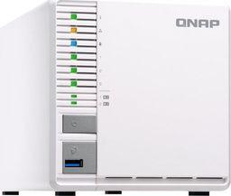 Serwer plików Qnap TS-351 3-Bay TurboNAS, Intel Celeron 2C 2,41 GHz, 2GB RAM, 1x1GbE, 1xUSB 3.0 (TS-351-2G)