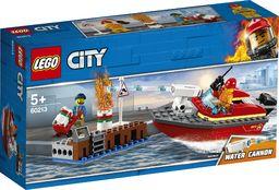 LEGO CITY  Pożar w dokach (60213)
