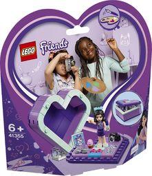 LEGO FRIENDS Pudełko w kształcie serca Emmy 41355