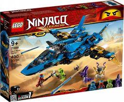 LEGO NINJAGO Burzowy myśliwiec Jaya (70668)