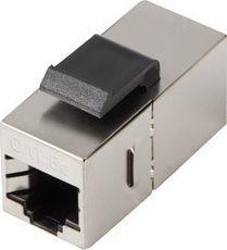 Lanberg Łącznik keystone gniazdo RJ45 - RJ45 FTP kat.5e do puszki montażowej złączka sieciowa -KSF5-3000