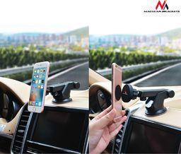 Uchwyt Maclean Maclean MC-787 Samochodowy uchwyt do telefonu magnetyczny montowany na przyssawk