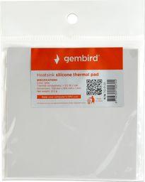 Gembird podkładka termiczna silikonowa, 100 x 100 x 1 mm (TG-P-01)
