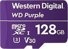Karta Western Digital Purple MicroSDXC 128 GB Class 10 UHS-I/U3 V30 (WDD128G1P0A)