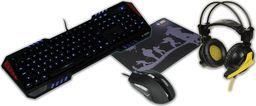 iBOX Aurora Gaming SET-1 + Słuchawki + Podkładka (IZGSET1)