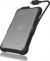Kieszeń RaidSonic IcyBox na dysk 2,5'' SATA SSD, USB 3.1 Type-C,