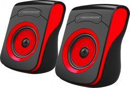 Głośniki komputerowe Esperanza EP140KR Flamenco czerwone