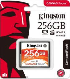 Karta Kingston Compact Flash Canvas Focus 256GB UDMA7 VPG-65