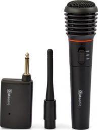 Mikrofon Vakoss Msonic Mikrofon bezprzewodowy MAK475K, plastikowy, czarny