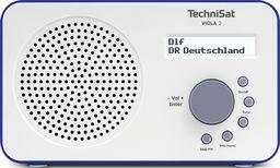 Radioodtwarzacz Technisat VIOLA 2, biało-niebieski