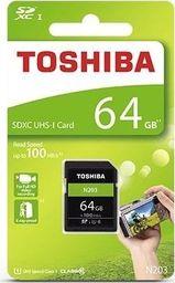 Karta pamięci Toshiba SDXC 64GB THN-N203N0640E4